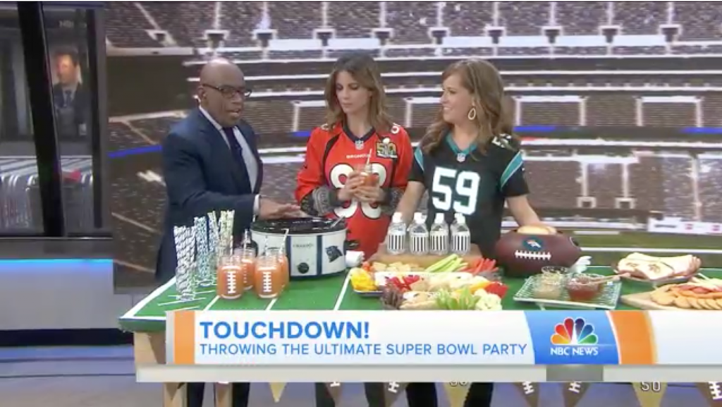 Today Show How To Throw A Perfect Football Themed Party Maureen Petrosky Lifestyle